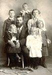 Olof Swenson's family - Sven; Herman; Christina; Olof; Albert;John & Celia