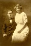 John Ronnberg & Mabel Sodergren's wedding photo - 15 Jun 1914