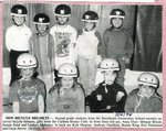 Newspaper  Clipping -  Second grade students at the Stockholm Elementary School receives bicycle helmets