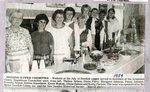 Newspaper Clipping - Swedish Supper Committee 1989 - Thelma Nelson; Diane Perry; Margaret Johnson; Penny Johnson; Frances Nelson; Debbie Blanchette; Karen Wakem; Diane Dubois & Kathy Carlson