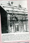 Newspaper Clipping - Noak Larson - George Ostlund log home restoration