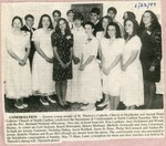 Newspaper Clipping - St. Theresa's Catholic Church  confirmation - June 22, 1994.