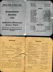 Class of 1920 - Commencement Exercies for New Sweden & Westmanland Grammar Schools