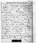 World War II letter from F P. Anderson