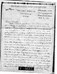 World War II letter from Nelson Hede