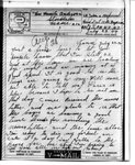 World War II letter from John A. Hoglund
