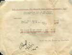 World War II - Invoice for newsletter #11