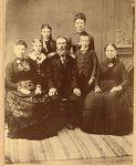 Olof & Katrina Peterson's family - Ida, Christine, Olivia, Andrew Lovisa