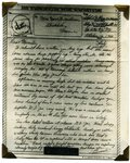 World War II letter from Linwood Oberg - Oct. 1944