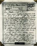 World War II letter from Albert Paquin - July 1943