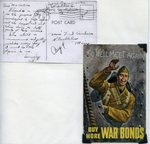 World War II letter from Albert Paquin - Mar 1944