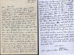 World War II letter from Hilmer Sjostedt