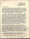 World War II letter from Linwood W. Oberg