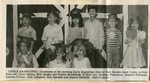 Newspaper Clipping - Early Beginnings graduates - Front: Tyler Adams, Erin Bougie, Kristin Hawkinson. Back: Nicholas Thibodeau, Jennifer Thibeault, Lauren Currier, Jack Campbell, Sam Sjostedt, Jessica Ouellette