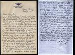 World War II letter from Herbert Peterson