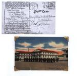 World War II letter from Dexter A. Dahlgren