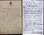 World War II letter from Ernest Ek