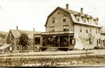 Postcard - Lumber Company Store, Stockholm, ME
