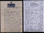 World War II letter from H. A. Nelson