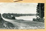 Postcard - Lawson's Camp at Madawaska Lake