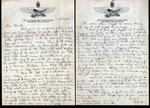 World War II letter from Vincent Sjoberg