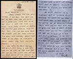 World War II letter from Donald Nickerson