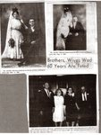 Newspaper clipping - Mr. & Mrs. Herman Anderson & Mr. & Mrs Edward Anderson