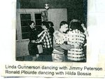 Linda Gunnerson dancing with Jimmy Peterson, Ronald Plourde dancing with Hilda Bossie - 1957