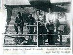 Roger Bossie, Paul Plourde, Russell Clevette & Betty Bossie