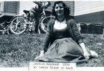 Jackie Raymond, Lewie Dixon in back - 1956