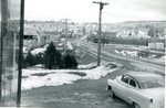 Looking north - Christmas Week - 1957