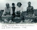 Edythe, Marshall, Anne Carlstrom & Linda Gunenrson - Fall 1956
