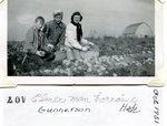 Elmer & Selma Gunnerson, Lorraine Hede - Oct 1951