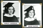 Stockholm Class of 1943 -  Shirley  Anderson & Miriam Baxter