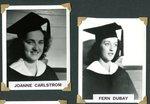 Stockholm Class of 1943 - Joanne Carlstrom & Fern Dubay