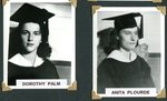 Stockholm Class of 1943 - Dorothy Palm & Anita Plourde
