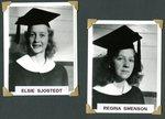 Stockholm Class of 1943 - Elsie Sjostedt & Regina Swenson