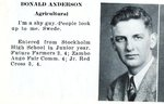 Caribou High School  1946 - Donald Anderson