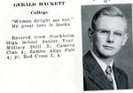 Caribou High School 1946 - Gerald Hackett