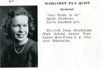Caribou High School 1946 - Margaret Quist (Wardwell)