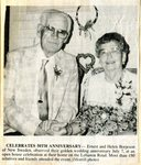 Ernest & Helen (Johnson) Borjeson celebrate their 50th Wedding Anniversary.