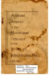 Stockholm, ME Town Report 1911 - 1912 by Municipal Officers of Stockholm, Maine