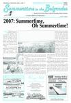 Summertime in the Belgrades : June 7, 2007