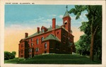 Court House, Ellsworth, Maine Postcard