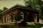Bucksport National Bank Postcard