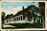 High School, Ellsworth, Maine Postcard