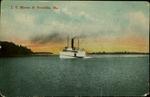 J.T. Morse at Brooklin, Maine Postcard