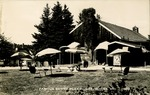 Famous Surry Play House, Surry, Maine Postcard