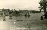 View of Village, Surry, Maine Postcard