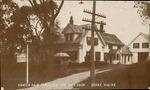 Vanity Fair Tea Room and Gift Shop, Surry, Maine Postcard